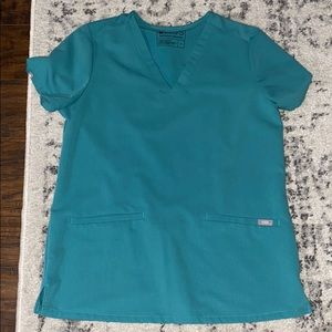 Figs marine Casma top in great condition